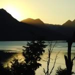Vista del Lago al atardecer